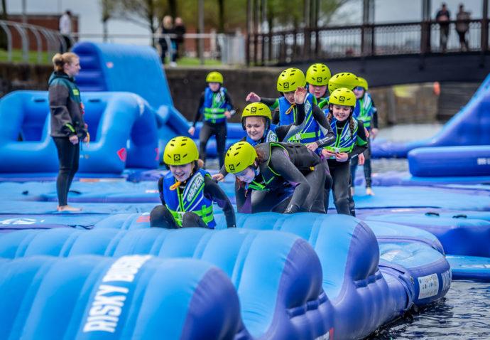 liverpool kids activities - Adventure dock slides