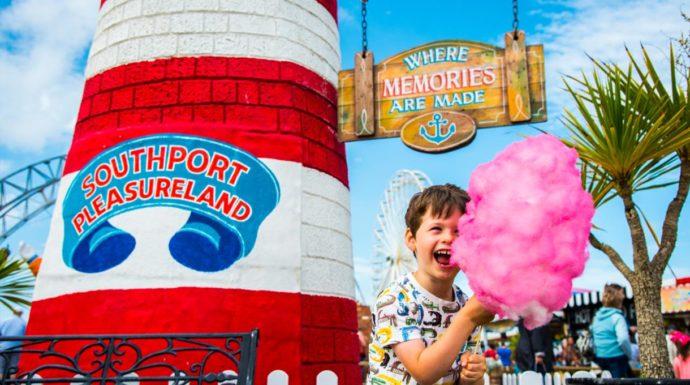 Southport pleasureland liverpool kids activities
