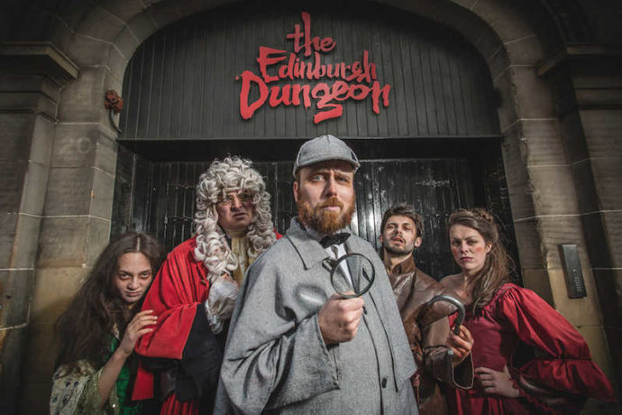Edinburgh Dungeon - things to do with kids in edinburgh