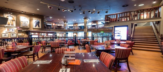 Hard Rock Cafe Manchester - child friendly restaurants manchester