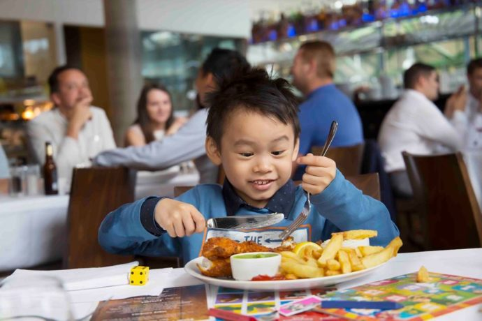 child friendly restaurants in london