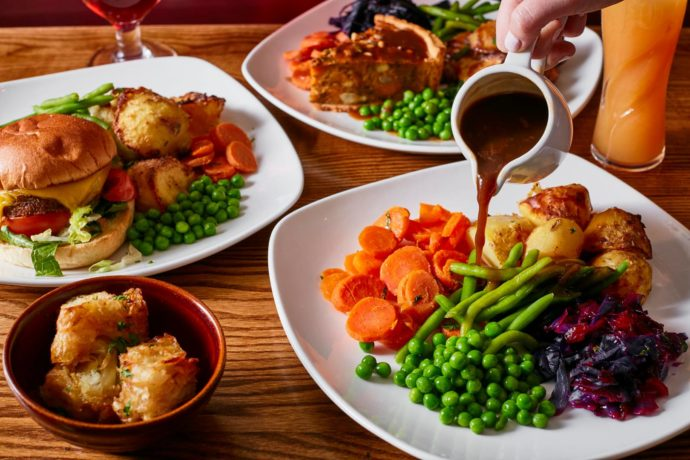 Vegan Roast at Toby Carvery
