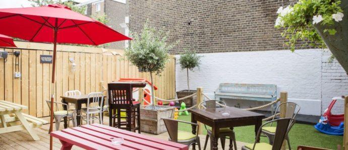child friendly pubs london