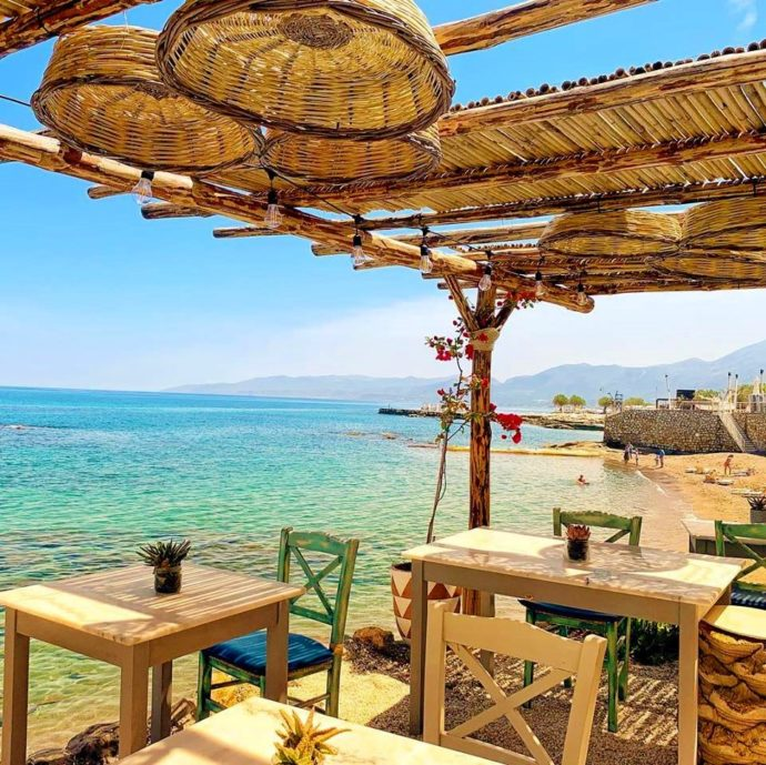 Med Cafe & Restaurant - family friendly restaurants crete
