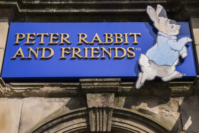 Beatrix Potter World - lake district for kids