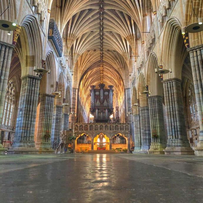 Exeter Cathedral - activities in exeter