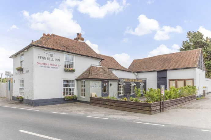 Fenn Bell Inn - child friendly restaurants kent