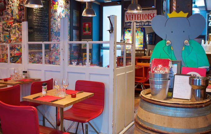 Family Friendly Restaurants Paris
