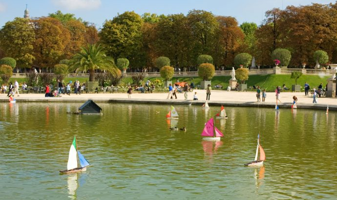 Luxembourg Gardens - Paris With Children