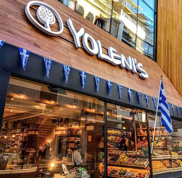 Yolenis in Athens