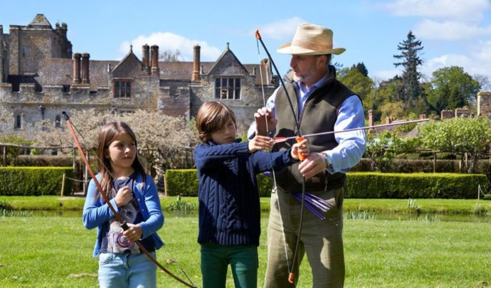 Hever Castle - Best Castles to visit with Children nearby London