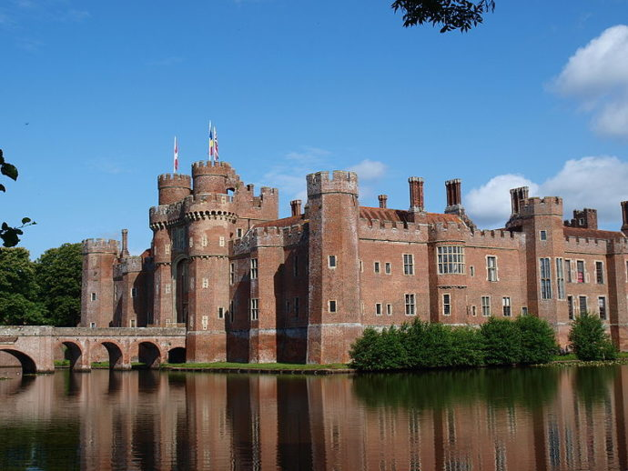 Herstmonceux Castle - Best Castles to visit with Children nearby London