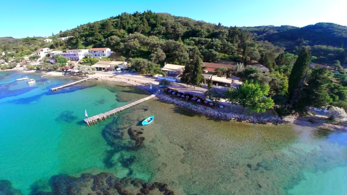 Boukaribeach - family friendly restaurants corfu