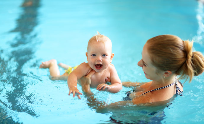 Baby Swim - Things to Do in London with Toddlers