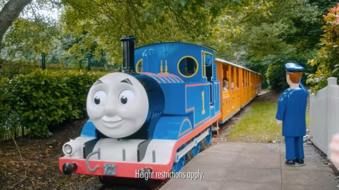 theme parks uk for toddlers