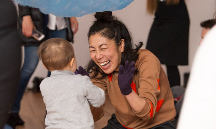 Montessori play at V&A