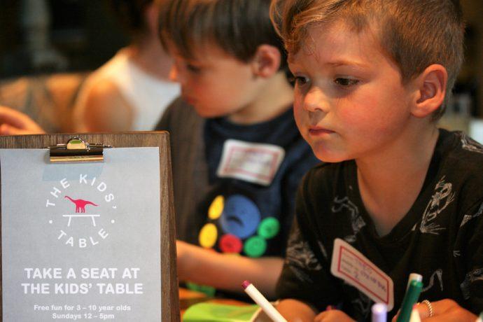 Kids table London