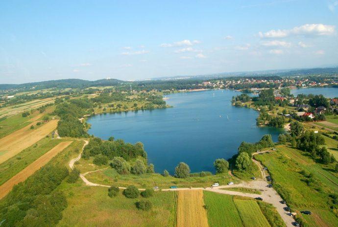 Krakow lagoon