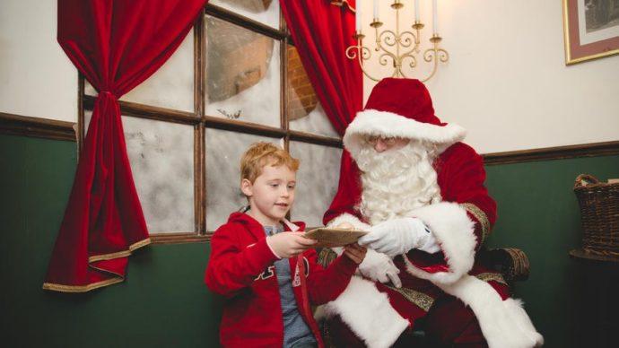Santa at Royal Albert Hall