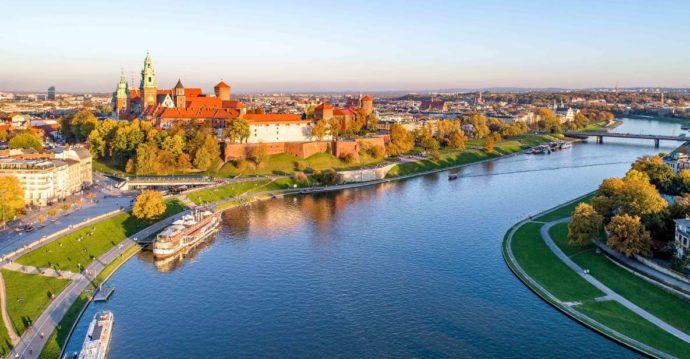 Krakow boat trip