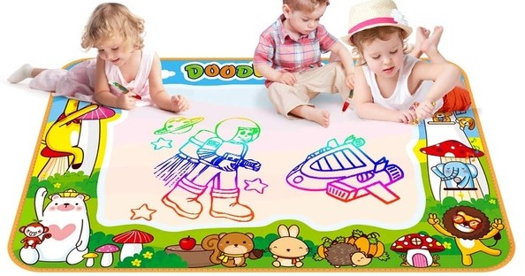 Magic paint mat - activities for toddlers at home