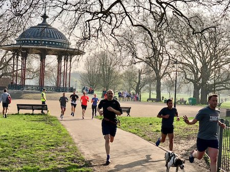 Where to Run in London with a Pram