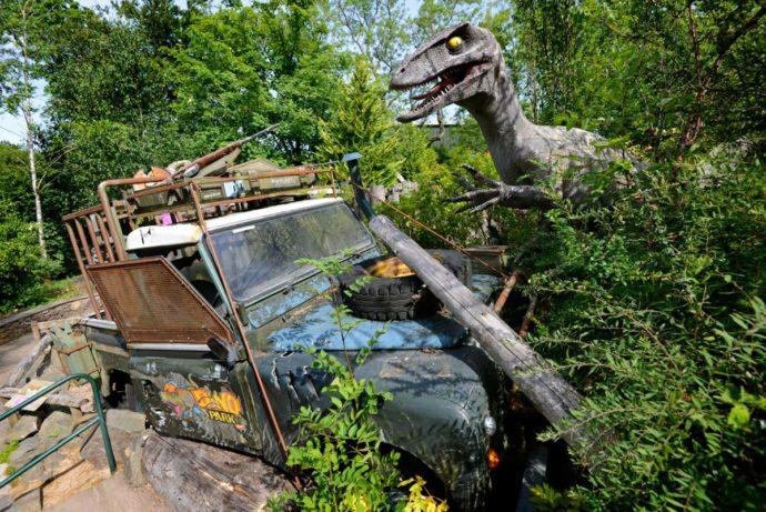 Dino Park - Scotland with Kids