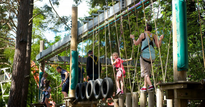 Landmark Forest Adventure Park - Scotland for Kids